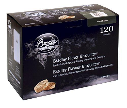 Bradley Smoker BTOK120 Eiche Bisquetten 120 Pack