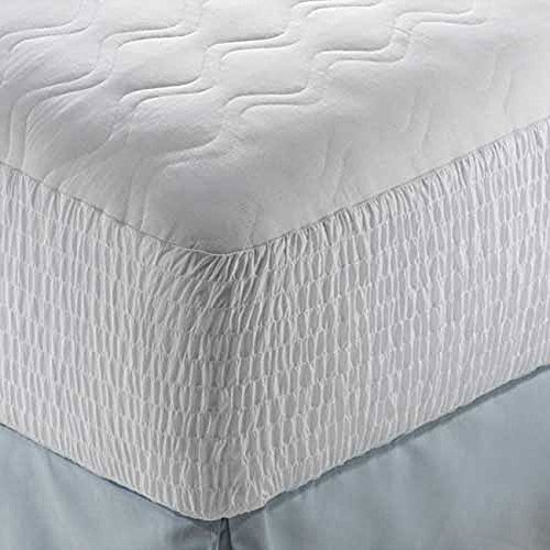 Mattress Pad Polyester Cotton Top Protector Cover Bed Bedroom Sleep / Full