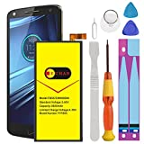 Motorola Droid Turbo 2 Battery, (Upgraded) Euhan 3600mAh Rechargeable Li-Polymer Battery FB55 SNN5958A Replacement for Motorola Droid Turbo 2 XT1585 Moto X Force XT1581+Repair Replacement Kit Tools.