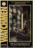 shuimanjinshan Sci-Fi Watchmen Film Film Vintage Retro
