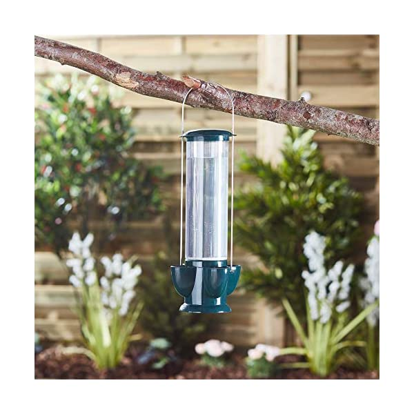 Happy Beaks Hanging Water Feeder Drinking Station for Wild Garden Birds, with 4 Drinking Ports