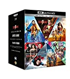 Dc Comics Boxset 7 Film (4K+Br) (Box 14 4K) Shazm-Aquaman-Justice League-Wonder