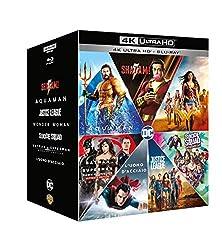 Se acquisti DC Extended Universe - 7 Film Collection 4K UHD + Blu-Ray entro il 24.12.2019 hai a disposizione un buono di €5 da spendere su Amazon.it Contiene: SHAZAM! - AQUAMAN - JUSTICE LEAGUE - WONDER WOMAN - SUICIDE SQUAD Extended Cut* - BATMAN V...