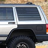 Skull Daddy Graphics XJ Window Flags to fit Jeep Cherokee 1987-2001 (XJ Window Flags Both Sides)