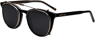 JO Polarized Sunglasses Clip for Man Women with Optical Glasses JO5115 Black