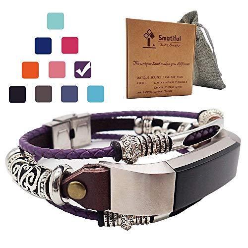 Smatiful Alta Cinturino, Adjustable Replacement Accessori Sport Cintura per Fitbit Alta,Lavanda Purple Lilla Viola