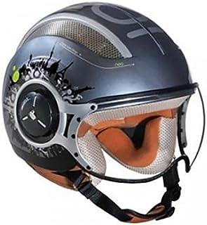 Gris Taille L Iota Casque moto Jet Route Vector