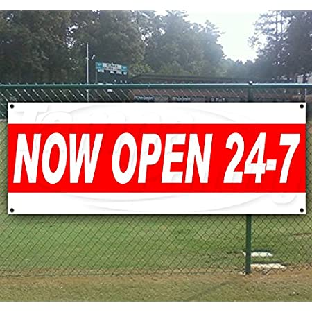Non-Fabric Heavy-Duty Vinyl Single-Sided with Metal Grommets Grand Opening Extra Large 13 oz Banner
