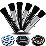 6 Pieces Portable Laptop Cleaning Brush Electronic Cleaning Brush Swipe Computer Brush for Laptops Keyboard Mobile Phones Cameras Digital Products Car Interior Detailing Home and Office Items
