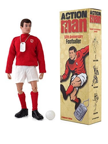 Action Man AM713 - Figura de acción 50th Anniversary Footballer.