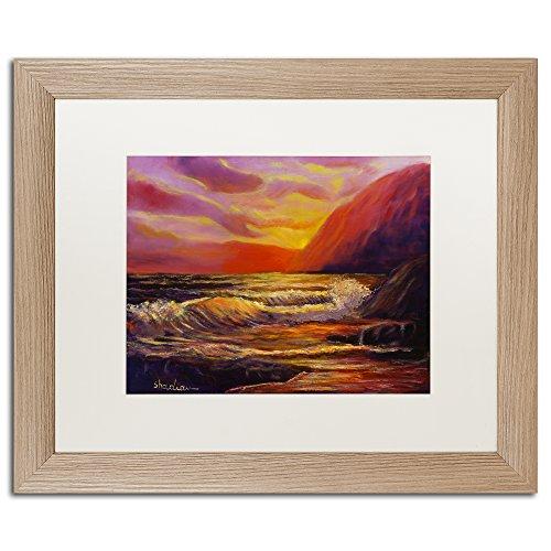 Coastal Dreams by Manor Shadian Bilderrahmen, Birkenholz, matt, 40,6 x 50,8 cm, Weiß