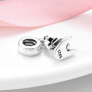 Charms Bead Forma Creativa Del Microscopio Per Fare Ciondolo Con Perline In Argento Sterling 925 Misura Originale Fascino ...