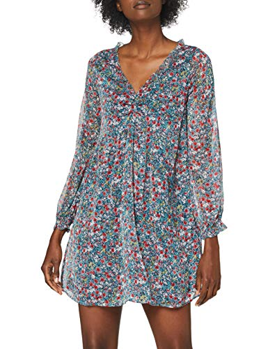Pepe Jeans Courtney Vestido Casual, Multicolor (0AA), Large para Mujer