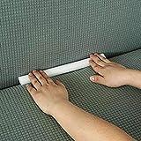 Stretch Sofa Slipcover Foam Tucker Grips, Slipcover Tuck Grips Anti-Slip Foam Stick for 1 2 3 Seater Recliner L-Shape Furniture Protector (Set of 14)
