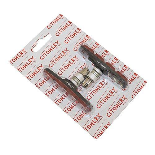 Fiets remblokken, remklauwen, remschoenen 70mm voor Shimano DX, LX, Alivio V-type remsysteem