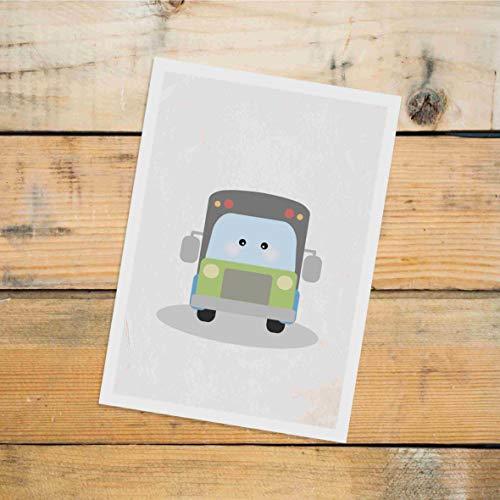 Postkarte Dreamchen Kinderzimmer Deko Bus Jonas