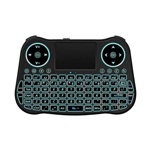 Domilay MT082.4GHz Teclado InaláMbrico Teclado TáCtil RatóN Controlador Remoto de Contacto InaláMbrico de Mano
