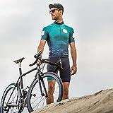 Conjunto de triatlón para hombre, ropa de montar, uniforme, transpirable, de manga corta, bicicleta de montaña, conjunto de ropa de carretera (Color : Suit 9, Size : X-Large)