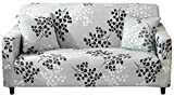 Lamberia Printed Sofa Cover Stretch Couch Cover Sofa Slipcovers for Couches and Loveseats with Two Pillow Case (Fall, Loveseat)