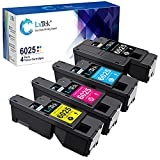 LxTek Remanufactured Toner Cartridge Replacement for Xerox WorkCentre 6027 6025, Phaser 6022 6020 (1 Black 106R02759, 1 Cyan 106R02756, 1 Magenta 106R02757, 1 Yellow 106R02758, 4 Pack)