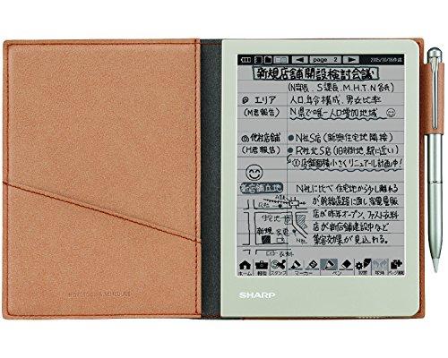 シャープ 電子ノート ブラウン系 WG-S30-T