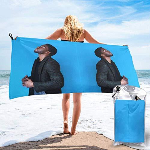 XCNGG ChadwickBoseman Beach Towels Highly Absorbent Towels Highly Absorbent Quickdry Towels Apply to Hotel SPA Bath Towels 31.5'x63'
