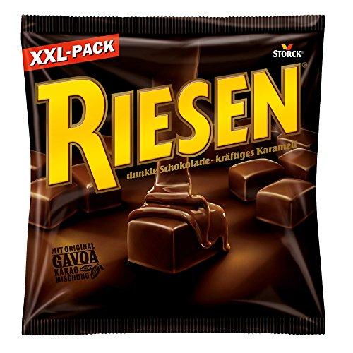 RIESEN (1 x 377g) / Karamellbonbon umhüllt von dunkler Schokolade