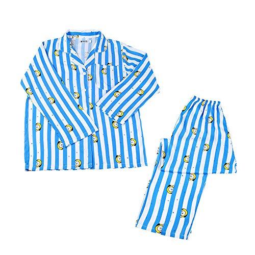MIFIN Schlafoveralls JUNG JOOK Jimin V Harajuku Stil Pyjama Nachtwäsche Nachthemd (Chimmy, S)