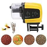 Jeffergarden Alimentador automático de Peces 1 Unid Digital Plástico Eléctrico Automático Temporizador de Peces Inicio Acuario Tanque Alimentación Alimentación Caliente