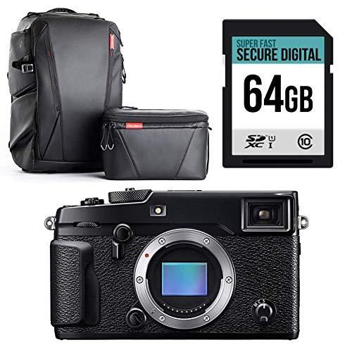 X-Pro2 Cuerpo con Pro cámara Impermeable, Gimbal y Drone Mochila y Alta Velocidad 64 GB Tarjeta de...