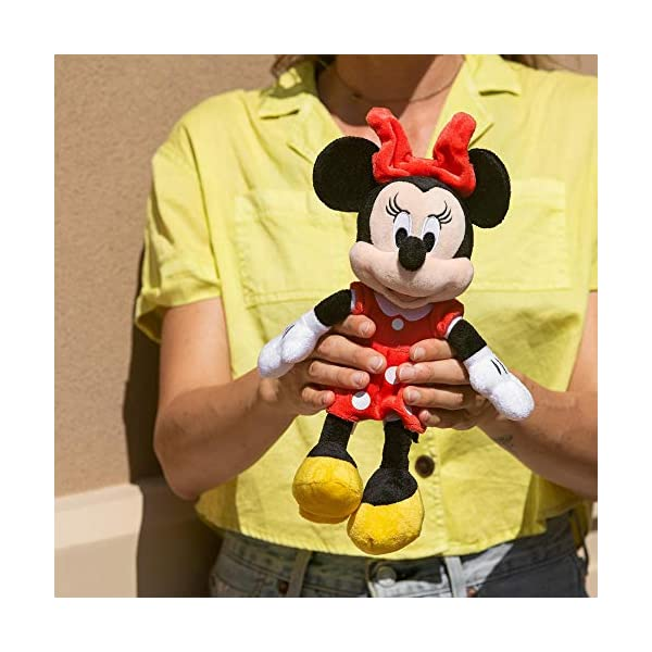 "Disney Minnie Mouse Red 11"" Beans Plush w hangtag 2"