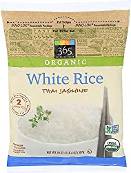 365 Everyday Value, Organic White Rice, Thai Jasmine, 20 oz, (Frozen)