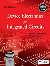 Device Electronics For Integrated Circuits, 3Rd Ed