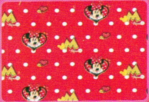 Minnie Mouse - Couverture Polaire rouge 120 x 150 cm