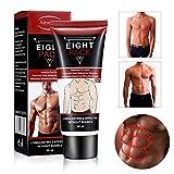 FYLINA Männer Abdominal Cream Fettverbrennung Body Firming Stärkung Bauchmuskel Creme Abs Muskel-Stimulator Entfernen Fettzellen