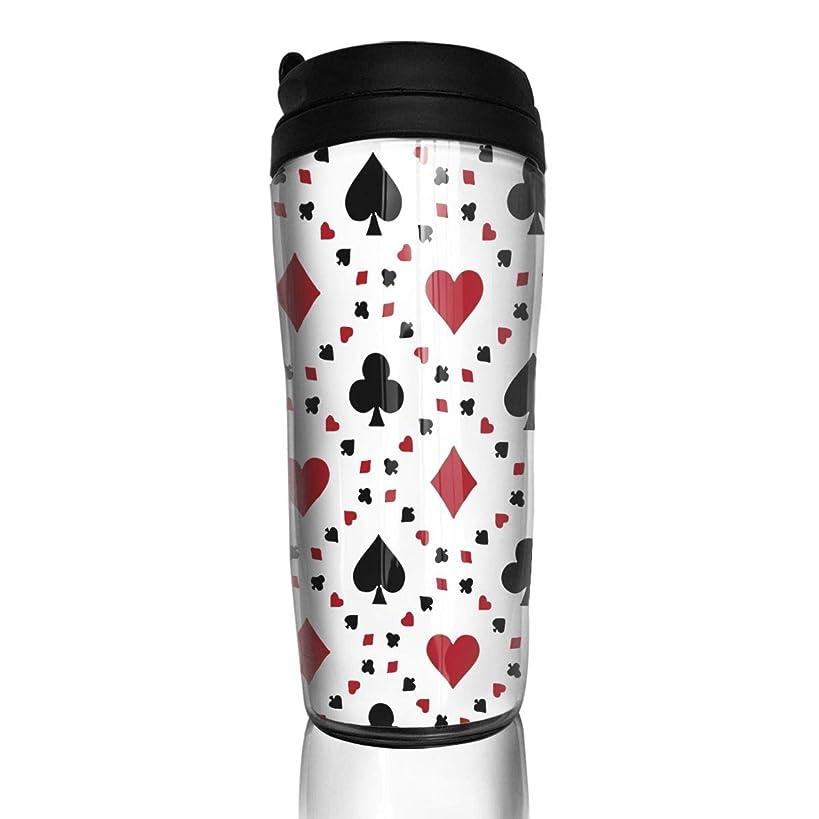 Wodehous Adonis Poker Cards Casino Stylish Insulated Traveler Coffee Mug Tumbler Stainless Steel Coffee Cup 12 Oz
