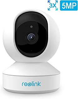 Reolink E1 Zoom Cámara IP WiFi Interior 5MP Súper HD 2.4GHz / 5GHz WiFi Cámara Vigilancia Giratorio Inclinación Zoom Cámara de Monitor de Bebé Audio Bidireccional Vision Nocturna