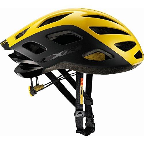 MAVIC CXR Ultimate Rennrad Fahrrad Helm gelb/schwarz 2017: Größe: M (54-59cm)