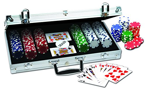"Set ""ProPoker"" 300 fiche in custodia di alluminio"