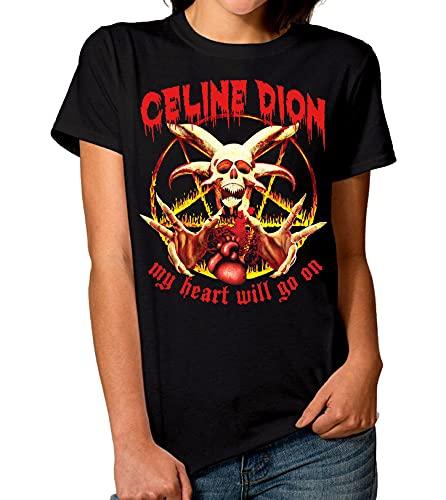 Celine Dion My Heart Will Go On T-Shirt Men's Women's Power Metal tee