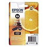 """Epson Cartouche d'Origine T33 """"Oranges"""" - Encre Claria Home Noir Photo - Taille XL Amazon Dash Replenishment est prêt"""