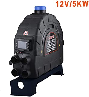Excavators with Mounting Brackets and Control Switch Suit for Trucks Minivans Harvesters Universal Grey 12V 4 Holes Underdash Parking Heater Demister Defroster Defogger Strong Hot Wind