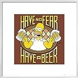 1art1 Die Simpsons Poster Kunstdruck und Kunststof