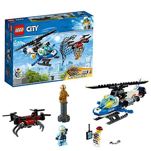 LEGO City 60207 Polizei Drohnenjagd, bunt