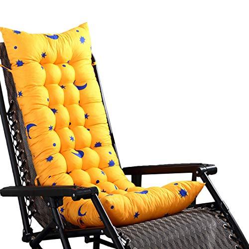 Cojín para Tumbonas, Cojín para Tumbona Exterior Cojín de Repuesto para Tumbona de Jardín Cojín para Tumbona Patio Cojín de Asiento Suave Chaise Lounge, Cuidado Cómodo y Fácil,#1,155x48x8cm