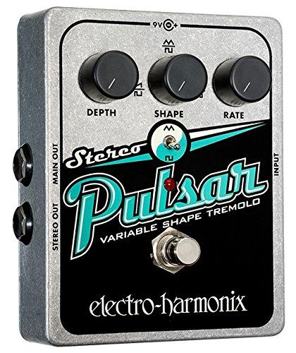 electro-harmonix エレクトロハーモニクス エフェクター アナログトレモロ Stereo Pulsar 【国内正規品】