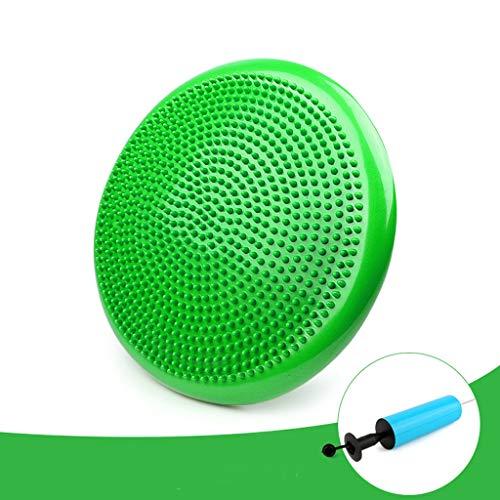 Balance Pad Rehabilitation Training Yoga Luftkissen Balance Ball Weiche Schritt Anfänger Balance Kissen Lastlager 360kg (Color : Green)