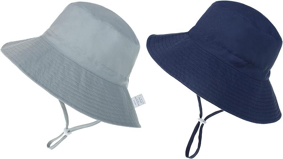 Baby Sun Hat Toddler Bucket Hat UPF 50+ Kids Summer Beach Hat for Girls