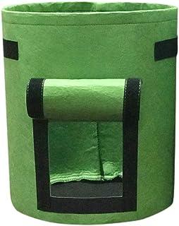 Decdeal 10 Gallons Garden Bag Planting Grow Bag with Handles Vegetables Planter Bags for Growing Potato Vegetable Gardenin...