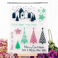 卸売透明クリアスタンプクリスマス村シリコーンシールローラースタンプDIYスクラップブッキングフォトアルバム/カード作成